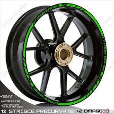 Trims Stickers Sport Wheel Wheel Stickers Honda VFR 800 x Crossrunner Green