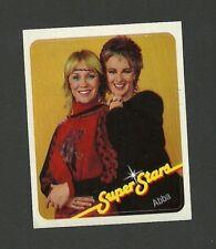 Abba Pop Rock Music 1980s Rare German Chocolate Sticker A