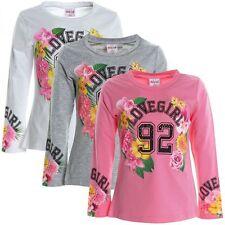 Markenlose Mädchen-Tops, - T-Shirts & -Blusen mit Motiv