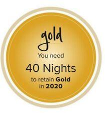 hotel membership (Hilton Gold, Diamond )