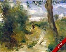 RENOIR LANDSCAPE FRA STORMS FRENCH ARTIST PAINTING ART REAL CANVAS GICLEEPRINT