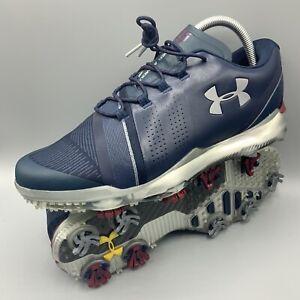 Under Armour Jordan Speith 3 LE 'Academy' Blue Golf Shoes 3022369-400 SZ 9
