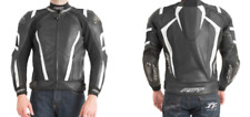 RST 1034 PRO SERIES CPX-C LEATHER JACKET  BLACK/WHITE SIZE UK 48 RRP £339 NEW