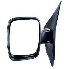 MERCEDES-BENZ VITO W638 DOOR MIRROR MANUAL BLACK LEFT HAND LHS 1998-2004