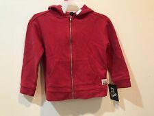 zip up hoodie shirt unisex size 4T 100% cotton (39-43 inc, 32.5-37 pounds) retai