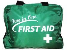 dos en un primeros auxilios bolsa (SIN KIT ) para ,ambulancia, Negocio, coche,