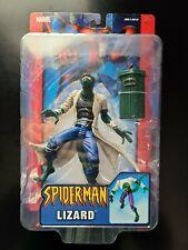 2004 Toybiz Spider-Man Classics Marvel Legends style LIZARD with lab coat MOC