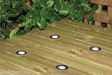 Illuminazione a LED MAXI KIT 10x 45mm di BIANCO TONDO-Rivestimento Cucina Bagno Luce