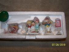 """Heritage Village Collection """"Snow Cone Elves"""" Set Of 4 In Box.#5637-5"""