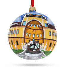 Vatican Museum, Rome Glass Ball Christmas Ornament 4 Inches