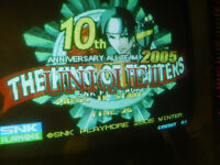 66 ii UNIQUE 2 the KING OF FIGHTERS 2005 10TH ANNIVERSARY  mvs neo geo cartridge