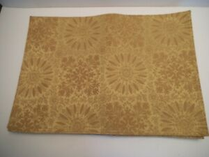 NEW WITH TAGS SET OF 6 MARTHA STEWART GOLD HEAVYWEIGHT PLACEMATS