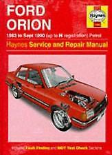 FORD ORION 1983 TO SEPT1990 PETROL NEW MANUAL FREE UK POST