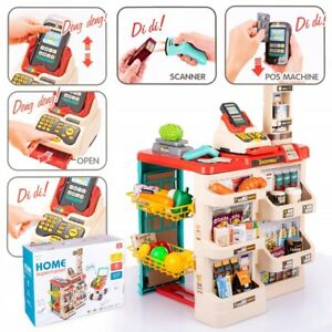 Kids Shop Supermarket Set Superstore Shop Toys Children Supermarket 48 PCS