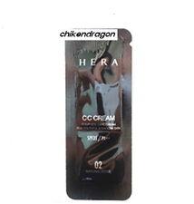 [Hera] CC Cream No.2 Natural Beige SPF35/PA++ 40ml(1ml*40ea) Complete Care + Gif