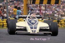 Nelson Piquet Brabham BT49C argentino Grand Prix 1981 fotografía 1