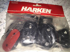 Harken 2743 Small Boat Double Sheave Traveller Controls w/ 423 Carbo-Cam NEW