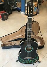 Esteban Acoustic Electric Limited Edition Spanish Guitar Duende w Hard Case Mint