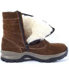 Zipper Shoes Snow Boots Winter Waterproof Men's Boots Fur Lining Ankle Shoes W64