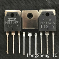 1 PAIR (MN1526+MP1526)Transistor DIP SANKEN TO-3PN NEW