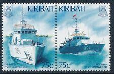 1995 KIRIBATI MARITIME POLICE PAIR FINE MINT MNH