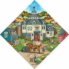 Bartletts Apple Orchard Diamond Shaped Masterpieces Jigsaw Puzzle 500 pc