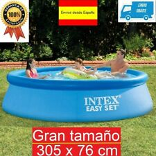 ENTREGA 48H -Piscina hinchable desmontable Familiar INTEX 305x76cm 3.853 Litros