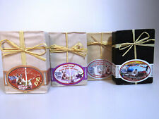 3+1 FREE Greek pure olive oil soaps Donkey Milk / Magnolia / Lavender + Lava