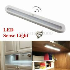 14 LED Battery PIR Motion Sensor LED Under Cabinet Light Kitchen Wardrobe Lamp