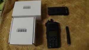 Motorola MOTOTRBO Xpr7550e UHF Digital Radio GPS WiFi AES Enabled TTS