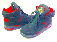 Patrick Ewing 6 Hi Eclipse Mens Olympic Sneakers Shoes Black 1EW90153-027 Size 8