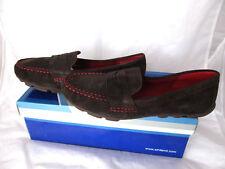 NWB  White Mountains SKIPPER  nubuck flat oxford loafer shoes  size 6.5 M