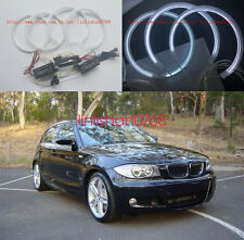 4x Excellent CCFL Angel Eyes kit For BMW E87 E88 (1 Series) 2004-2011 White