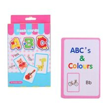 Flash Cards - Alphabet Color Flashcards - 36PCS - Toddler Kids Learning Toys