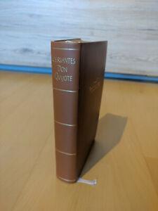 Der sinnreiche Junker Don Quijote v. d. Mancha * Winkler Dünndruck  Ledereinband