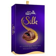 Cadbury Dairy Milk Silk Pralines Chocolate Gift Box, 240g Free SHipping