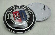 82 mm Alpina bonnet/boot Insignia Emblema E30 E36 E46 Serie 3 M-tec Bmw D3 B3 Frontal