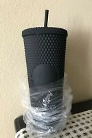 FALL 2019 STARBUCKS MATTE BLACK STUDDED TUMBLER CUP LIMITED EDITION *NEW IN BAG*