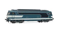 Jouef HJ2217 Locomotive Diesel BB 67038 livrée bleue Dépôt de RENNES