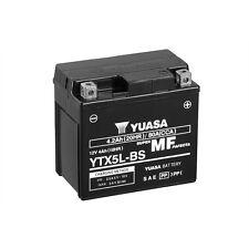 Batterie Moto Yuasa YTX5L-BS  12V 4.2AH 80A 114X71X106MM SANS ENTRETIEN