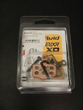 Avid Elixir Metal Sintered Disc Brake Pads with Steel Backing Plate, one pair