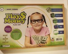Learn & Climb All-Inclusive Play Money Kids Set Realistic Bills/Coins