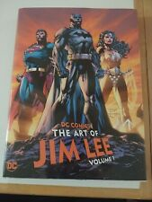 DC Comics: The Art of Jim Lee Vol. 1 Hardcover Signed