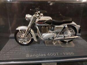 IXO 1/24 - MOTO SANGLAS 400T 1966 - MOTORBIKE MOTORRAD