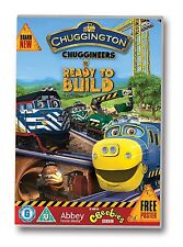 CHUGGINGTON, CHUGGINEERS: READY TO BUILD, SEALED 73 MINUTE DVD + POSTER, (2014)