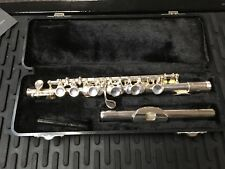 Gemeinhardt 4SP Piccolo Silver Plated Head, Body and Keys Flute, New!