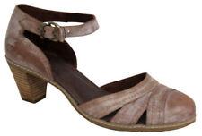 Scarpe da donna cinturini alla caviglia marrone , Numero 41