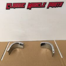 69 70 Ford Mustang Coupe Quarter Window Corner Trim Mouldings
