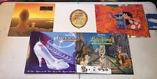 Disney Store - Lilo/Stich/Lion King/Snow White - Exclusive Lithograph Portfolios