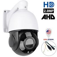 4in1 30X Zoom AHD/TVI /CVI/CVBS 2MP Outdoor CCTV PTZ Speed Dome Camera Sony CMOS